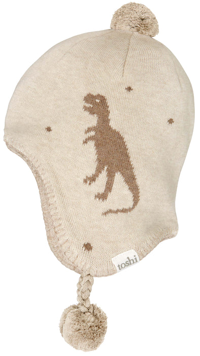 Organic Earmuff Storytime T-Rex by Toshi