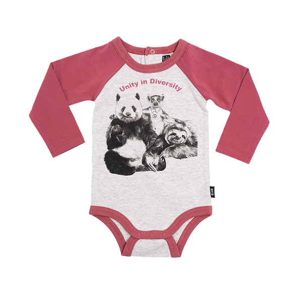 UNITY - LS BODYSUIT by Rock Your Baby