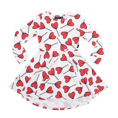 LITTLE SWEETIE - LS WAISTED DRESS by Rock Your Baby