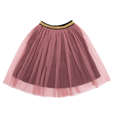 METALLIC PINK SHIMMER - SKIRT by Rock Your Baby