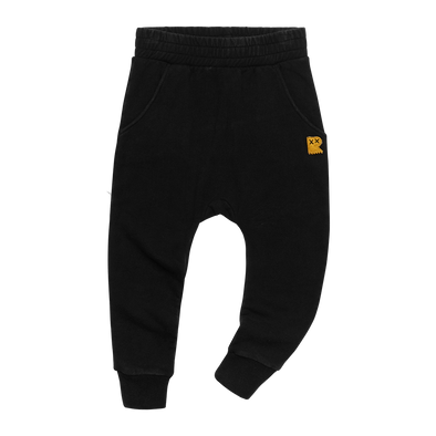 BLACK WASH - TRACK PANTS, BLACK WASH
