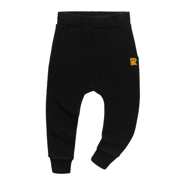 BLACK WASH - TRACK PANTS by Rock Your Kid