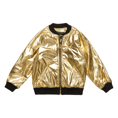 METALLIC GOLD - JACKET, GOLD