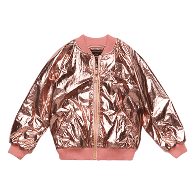 METALLIC PINK - JACKET, PINK