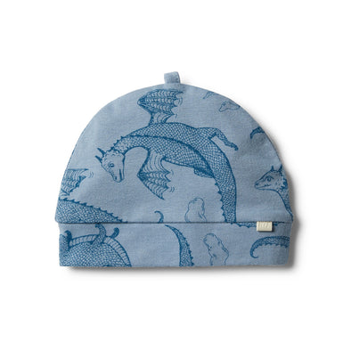 Organic Little Dragon Beanie by Wilson & Frenchy
