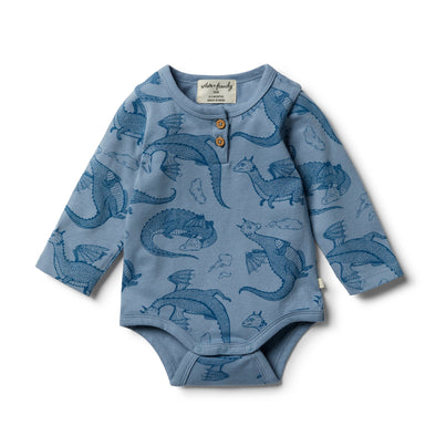 Organic Little Dragon Bodysuit by Wilson & Frenchy