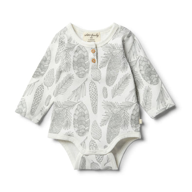 Organic Little Spruce Bodysuit by Wilson & Frenchy