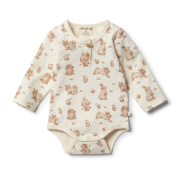 Organic Little Hop Bodysuit by Wilson & Frenchy