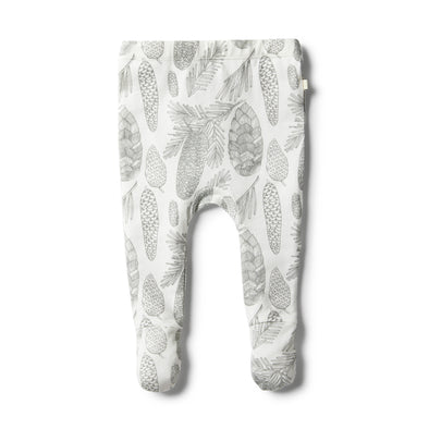 Organic Little Spruce Footed Legging