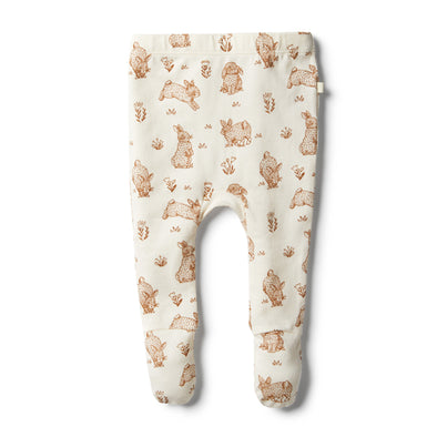 Organic Little Hop Footed Legging by Wilson & Frenchy