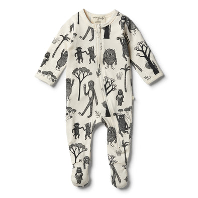 Organic Wild Zipsuit by Wilson & Frenchy