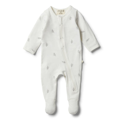 Organic Float Away Zipsuit by Wilson & Frenchy