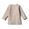 Organic Toasted Pecan Henley Top by Wilson & Frenchy