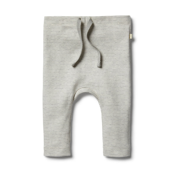 Organic Cloud Grey Legging by Wilson & Frenchy