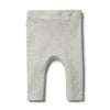 Organic Cloud Grey Legging