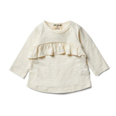 Whisper White Smock Top