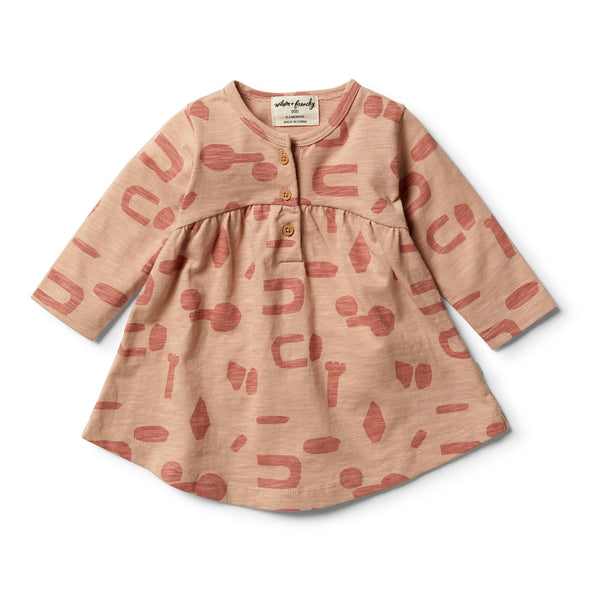 Cut N Paste Smock Dress by Wilson & Frenchy