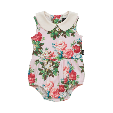 Cottage Garden Sleeveless Bodysuit by Rock Your Baby