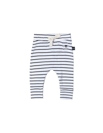 Stripe Drop Crotch Pant by Hux Baby