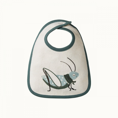 Reversible Bib by Nature Baby - Grasshopper