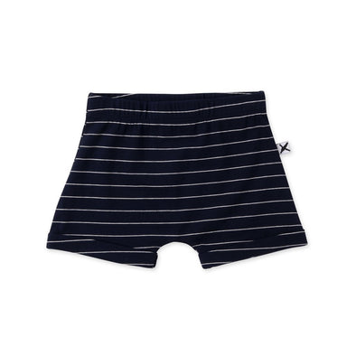 Easy Short by Minti - Navy Stripe