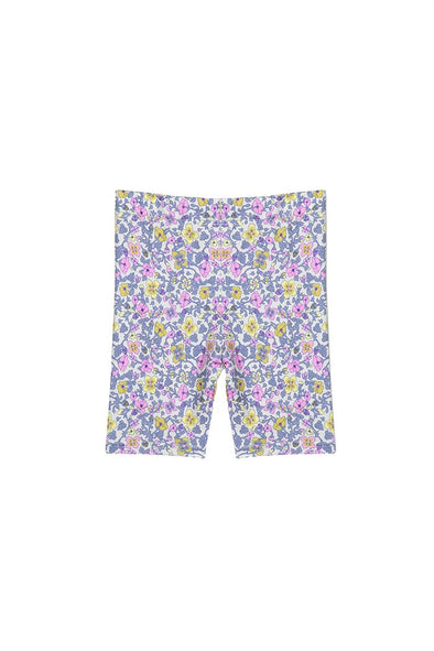Vintage Floral Baby Bike Short by Milky