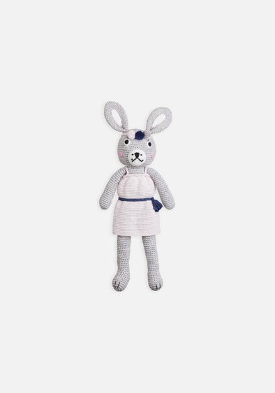 Large Crochet Boho Bunny by Miann & Co