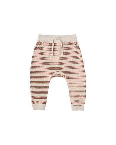 Terry Sweatpant - Amber Stripe by Rylee & Cru