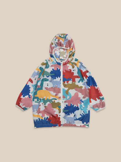 Dinos All Over Rain Jacket by Bobo Choses