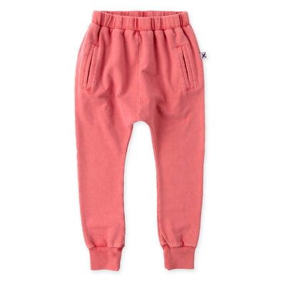 Coral Wash Blasted Bronx Trackies by Minti