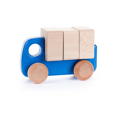Small Truck with Blocks by Bajo