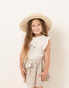 California Ruffled Tank by Rylee & Cru