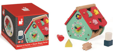Janod - House Shape Sorter