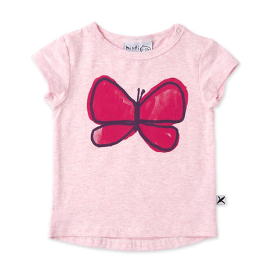 Painted Butterfly Tee by Minti