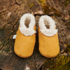 Lambskin Booties by Nature Baby - Straw