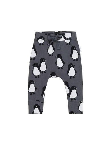 Baby Penguin March Drop Crotch Pant by Hux Baby