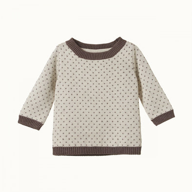Billy Jumper by Nature Baby (Truffle or Tulip)