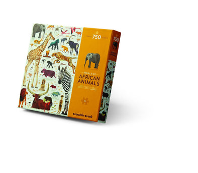 African Animals Puzzle (750 pieces) by Crocodile Creek