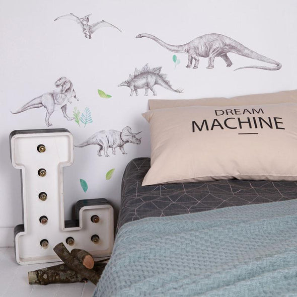 Large Fabric Wall Decals - Dinosaur Invasion by Love Mae