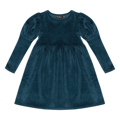 Blue Corduroy Dress by Rock Your Kid