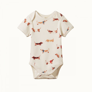 Short Sleeve Bodysuit by Nature Baby - Pet Parade