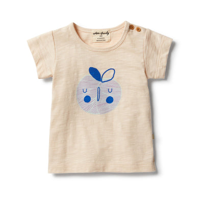 Sweet Apple Short Sleeve Tee by Wilson & Frenchy