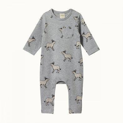 Long Sleeve Romper by Nature Baby - Tonto Print