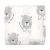 Lion Muslin Wrap by Mister Fly