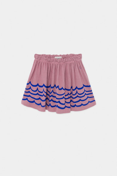 Waves Jersey Skirt by Bobo Choses