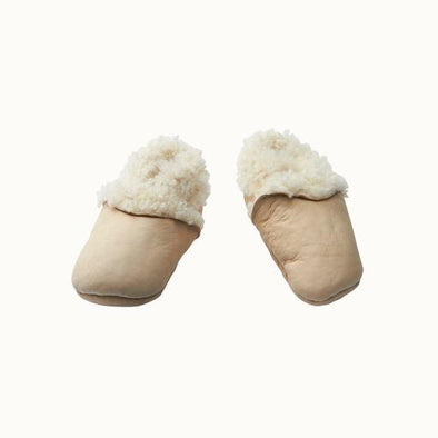Lambskin Booties by Nature Baby - Cream
