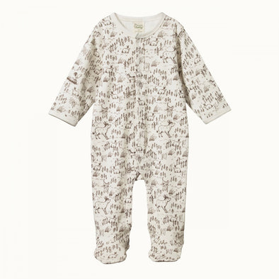 Cotton Stretch & Grow by Nature Baby - Barnyard Print