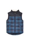 Baby Check Vest by Milky