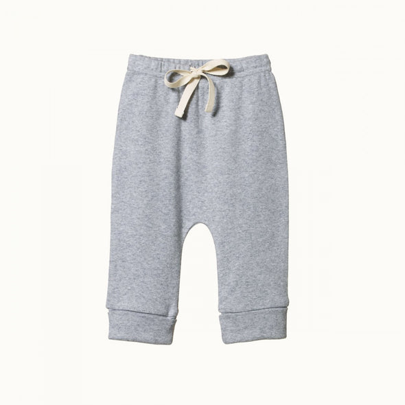 Drawstring Pants by Nature Baby - Grey Marl