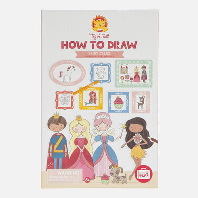 How to Draw - Fairy Tales by Tiger Tribe